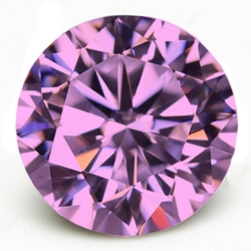 CZ Kubický zirkon - Pink, pr. 2.00 mm