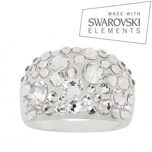 LEVIEN Prsten SWAROVSKI® elements - Crystal