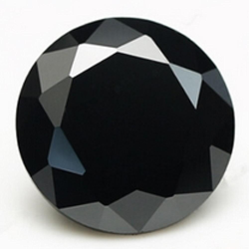 CZ Kubický zirkon - Black, pr. 1.25 mm