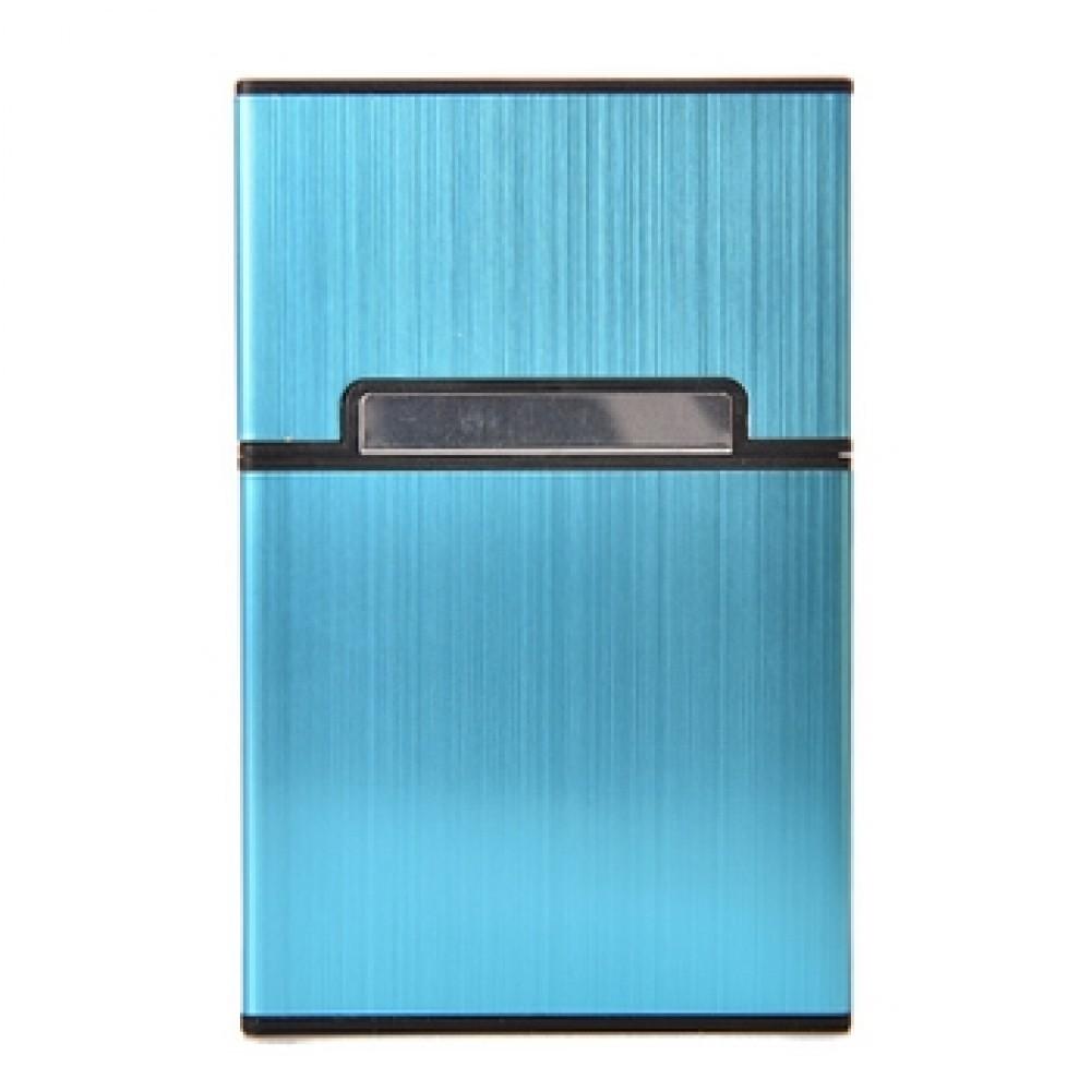 MEEX Plastové pouzdro na cigarety, barva modrá